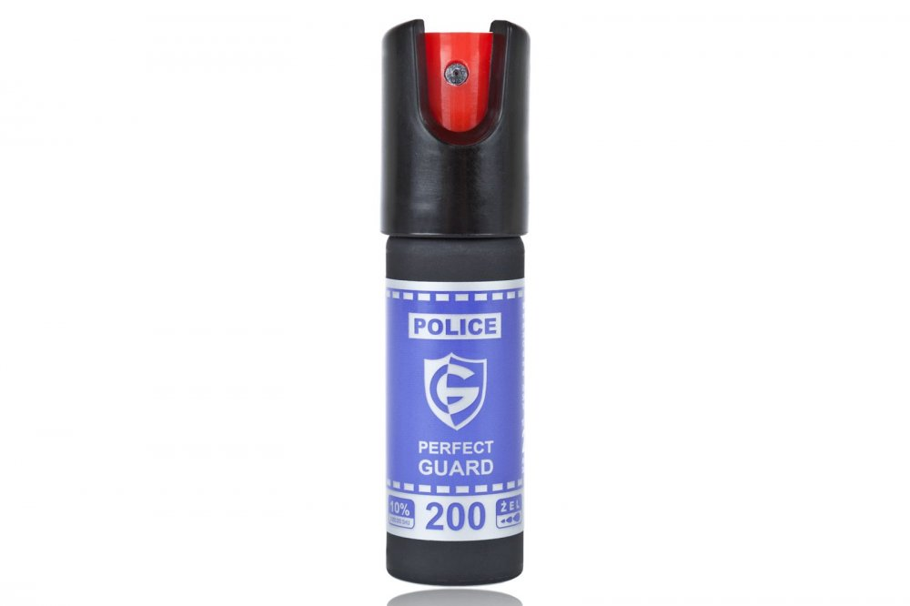 Pepřový obranný sprej POLICE PERFECT GUARD 20ml gel